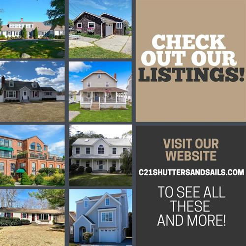 Be sure to visit our website to see all our AWESOME listings! http://c21shuttersandsails.com