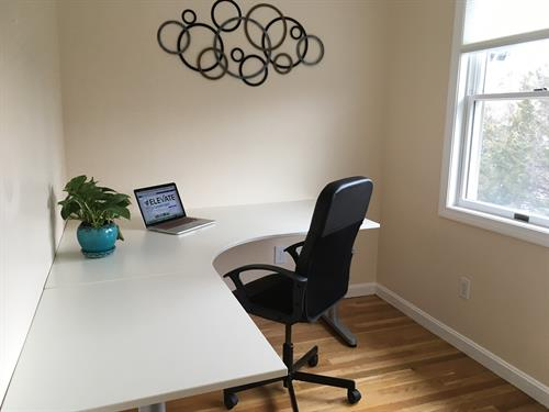A private office is available monthly