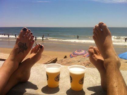 bere feet