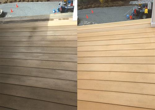 RI & MA Composite Deck Power Washing