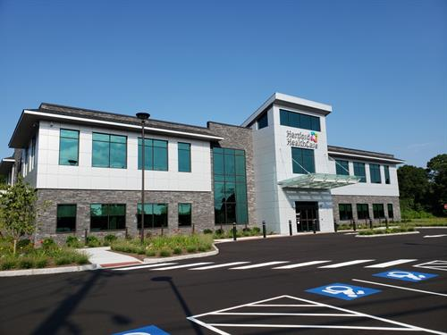 Hartford HealthCare has opened its newest HealthCenter at 350 Liberty Street (Route 2) in Pawcatuck. The 27,000-square-foot building was developed with patients' comfort and convenience in mind, offering easy access to primary care, pediatric and adolescent primary care, and rehabilitation services for patients in southeastern Connecticut and Western Rhode Island.