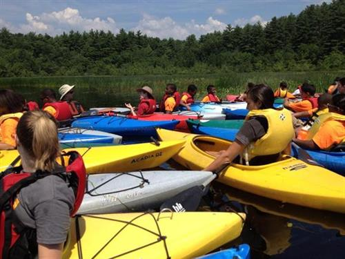 Youth paddle programs