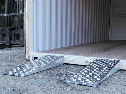Variety of container ramp options available