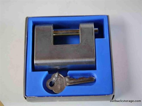 Purpose-built locks available to secure your shipping container