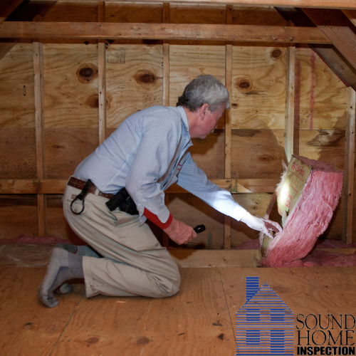 Sound Home Inspection - Attic Inspection and Ventilation