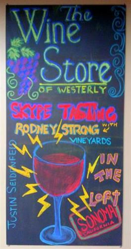 Taster's Club Skype Wine Tasting with Rodney Strong Vinards February 19, 2014