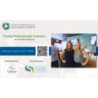 Young Professionals Connect at Voodoo Bayou