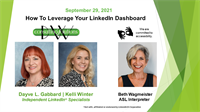 How To Leverage Your LinkedIn Dashboard