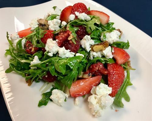 Menu Item - Berry N Goat Cheese Salad