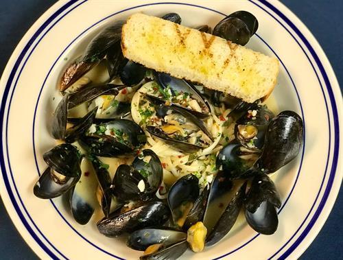 Menu Item- Mussels Linguine