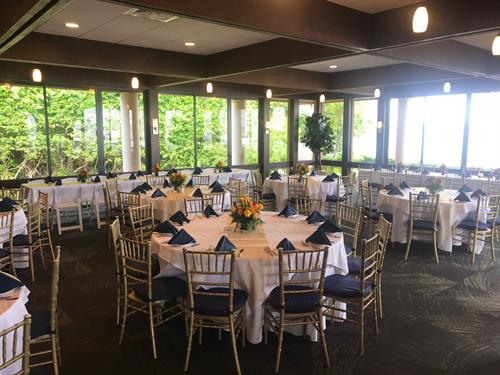 Our Banquet Room Accommodates Parties of 25 up to 120