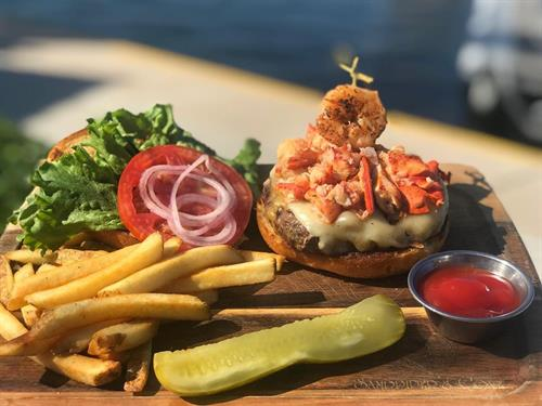 Chef Specials Change Daily - Surf N Turf  Burger
