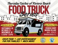 Thursday Tastes of Riviera Beach Food Truck Series