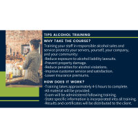 TIPs Alcohol Training