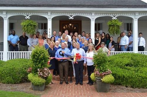 Coldwell Banker Robbins & Free ribbon cutting