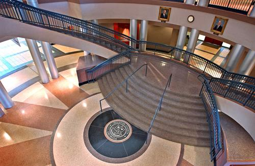 Houston County Courthouse Lobby