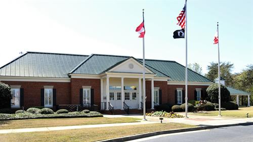 Perry's Welcome Center is located at 101 General Courtney Hodges Boulevard in Perry.