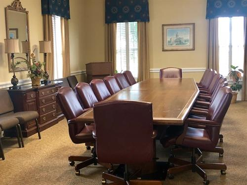 Comfortable meeting space available for non-profit groups & organizations.