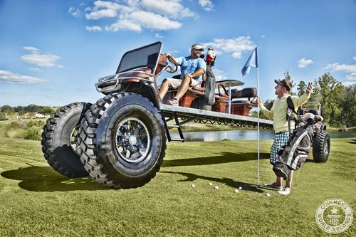 World's Longest Golf Cart by Mike's Golf Carts