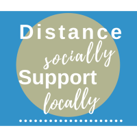 Community Update: Distance Socially. Support Locally.