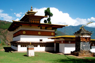 Buddhist Temples in Bhutan