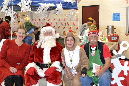 In 2015 the SVBOR took over the Winter Wonderland who serves hundreds of kids with free crafts and fun before Christmas.