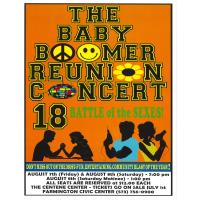 POSTPONED (unknown date): The Baby Boomer Reunion Concert