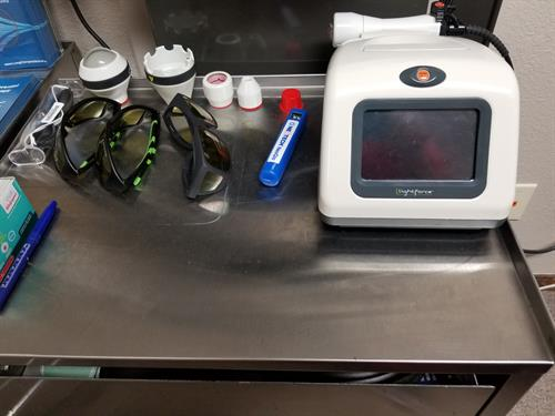 LightForce Pro Class IV Low Level Laser Therapy unit & accessories