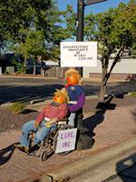 A Pair of Scarecrows for the LIFE Center