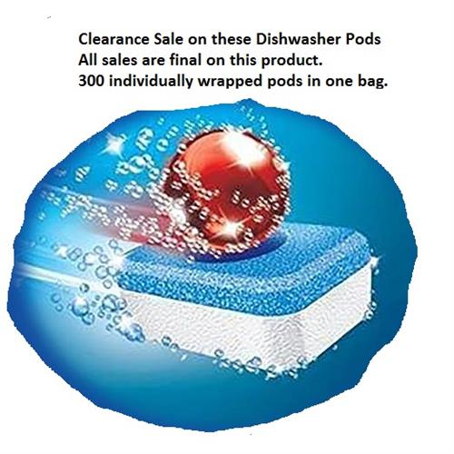 Dishwasher Pods (Special Clearance Price)