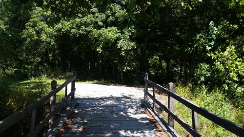 Hiking & biking trails