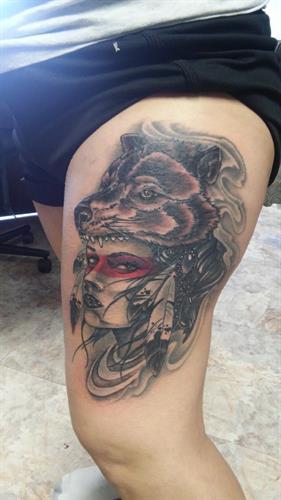 Head dress woman