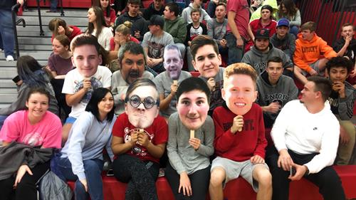 Join in on the fathead craze. Show your support at the games with your players face in the stands or a funny birthday gift!!!