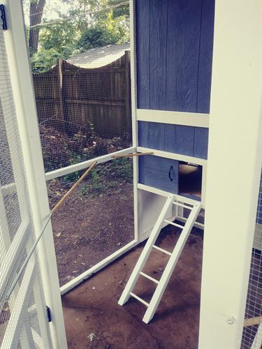 chicken coop made for customer 2