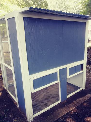 chicken coop made for customer 3