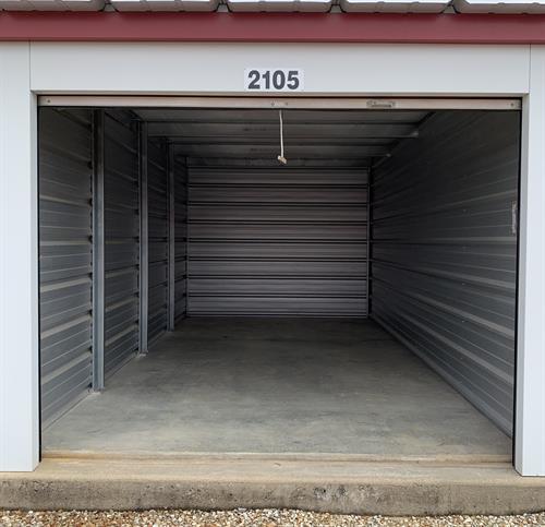 10x20 Standard Self Storage Unit