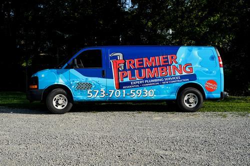 Custom Full Van Wrap - Premier Plumbing - Farmington, MO