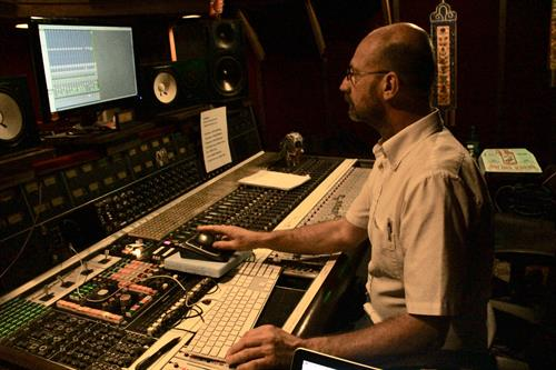 Mix Engineer Greg Edenfield at Fourth Street Studios, L.A.