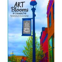 """2020 ART Blooms Banner Contest Theme - """"Places and Spaces"""""""