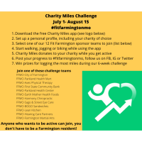 Fit Farmington Mo offers Charity Miles