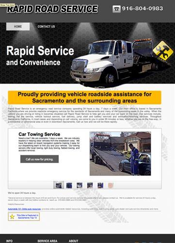 Rapid Road Service (Joomla 1)