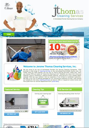 JThomas Cleaning Service
