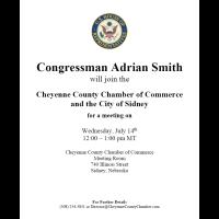 Congressman Adrian Smith Visit