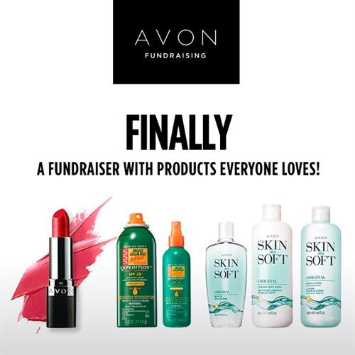 Try Avon Fundraising! Contact me for more information!