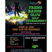 Chamber Friend-Raiser Glow Golf Tournament