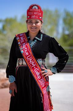 Nicole Young, Miss Native UNM-Gallup