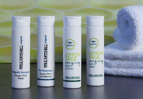 Paul Mitchell® Amenities.