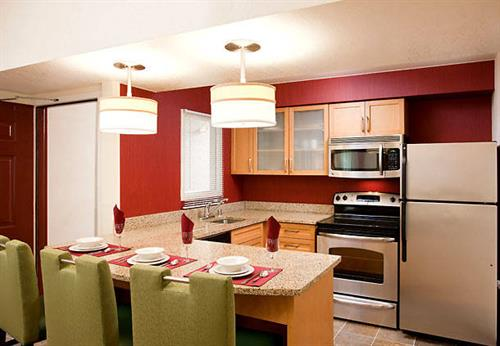 Two Bedroom Suite Kitchen.