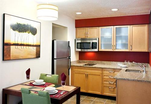 One Bedroom Suite Kitchen.