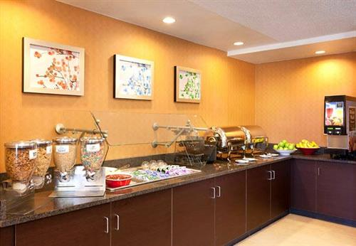 Daily Complimentary Breakfast Buffet.